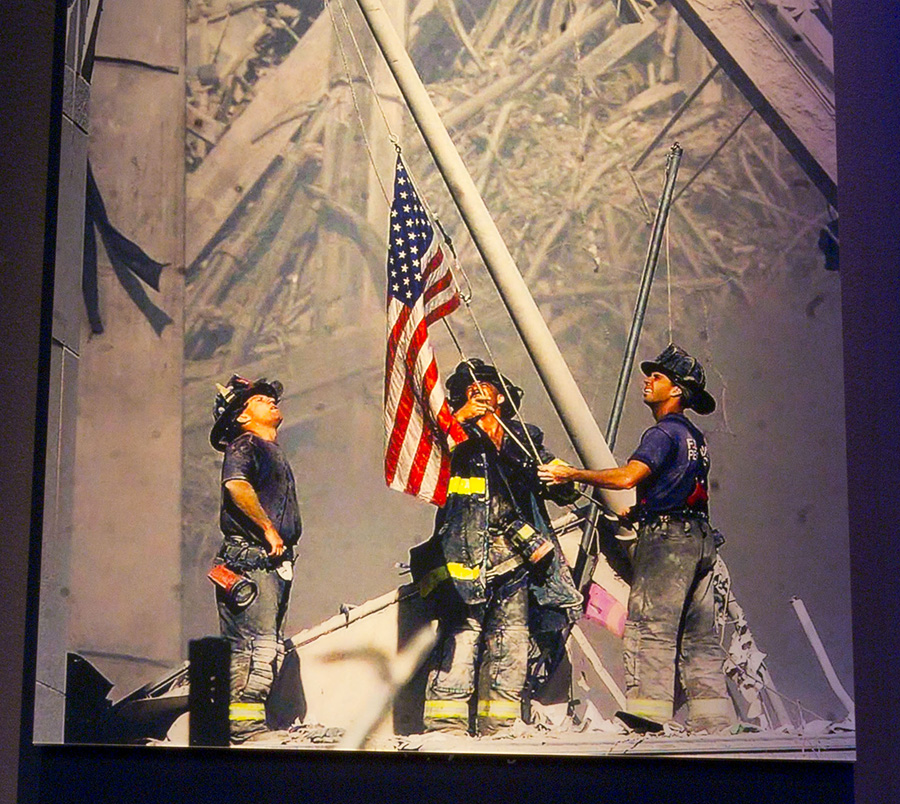 Iconic Ground Zero Flag Donated to 9/11 Memorial Museum | National  September 11 Memorial & Museum