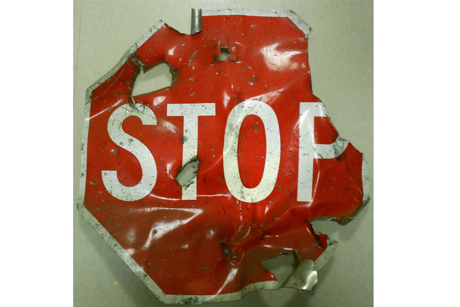 Navigate to Stop Signs Tell Story of 1993 WTC Bombing  page
