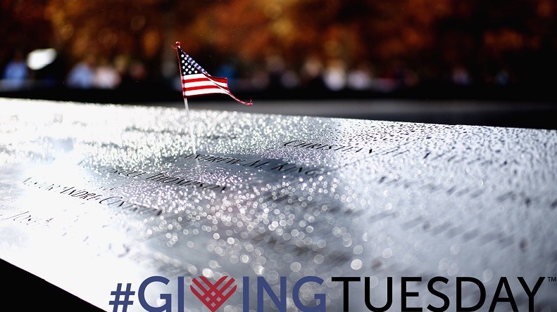 Navigate to Help Support the 9/11 Memorial & Museum on Giving Tuesday page