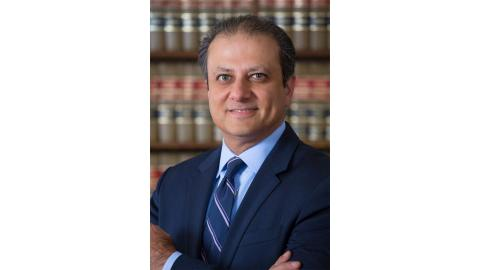 Former U.S. Attorney for the Southern District of New York Preet Bharara.